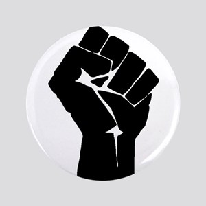 Solidarity Salute 3.5&Quot; Button