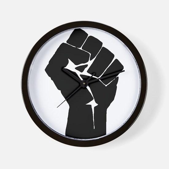 Solidarity Salute Wall Clock