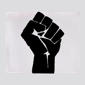 Solidarity Salute Throw Blanket