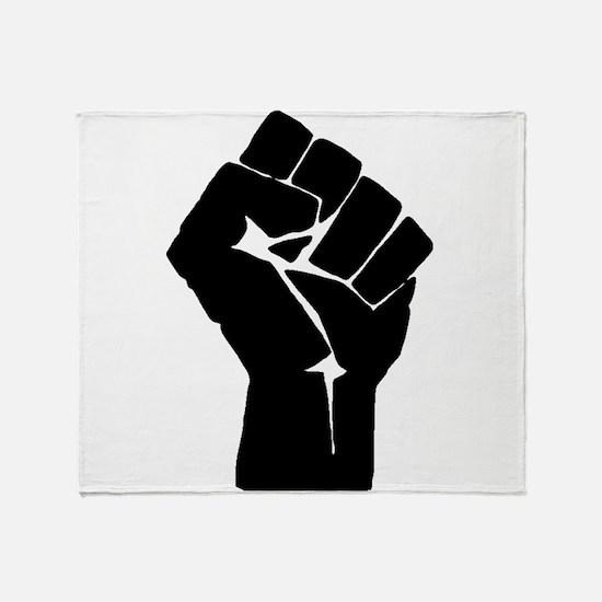 Solidarity Salute Throw Blanket