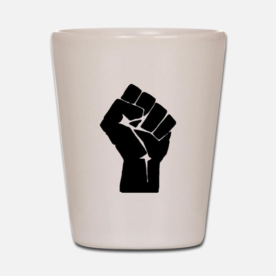 Solidarity Salute Shot Glass