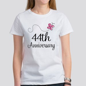 44th Anniversary Butterfly Women's T-Shirt