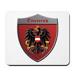 Austria Metallic Shield Mousepad