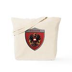 Austria Metallic Shield Tote Bag