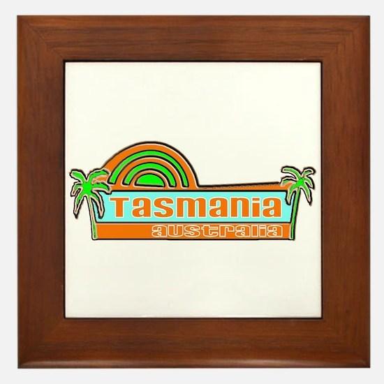 Tasmania, Australia Framed Tile