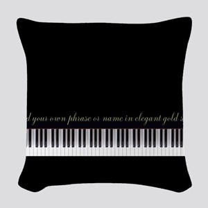 Your Name or Phrase Here Woven Throw Pillow
