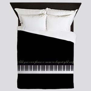 Your Name or Phrase Here Queen Duvet