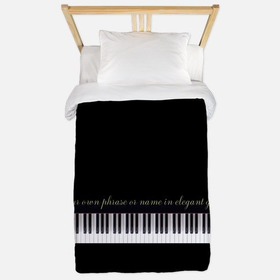 Your Name or Phrase Here Twin Duvet