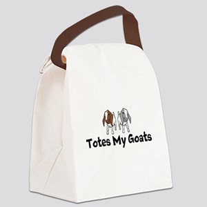 Totes my Goats Canvas Lunch Bag