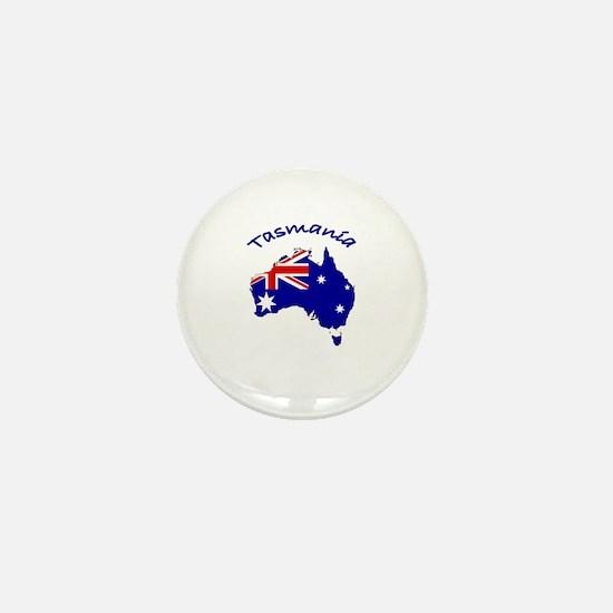 Tasmania, Australia Mini Button
