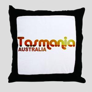 Tasmania, Australia Throw Pillow