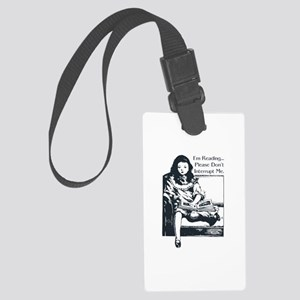 I'm Reading Large Luggage Tag