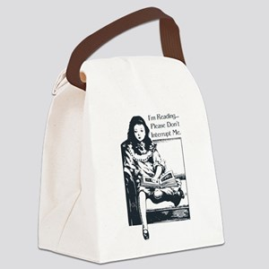 I'm Reading Canvas Lunch Bag