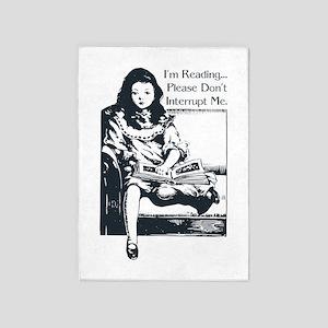 I'm Reading 5'x7'Area Rug