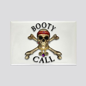 Pirate Booty Call Rectangle Magnet