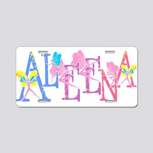 ALEENA_FAIRY_1 Aluminum License Plate