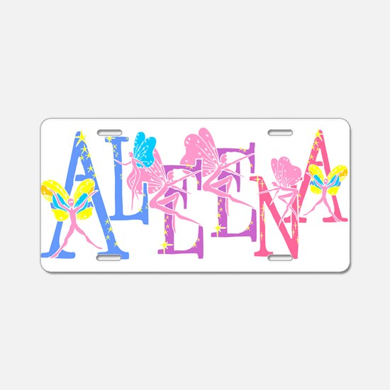 ALEENA_FAIRY_1.png Aluminum License Plate