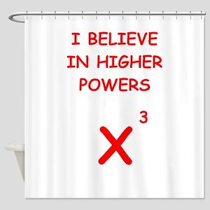 mathematics Shower Curtain