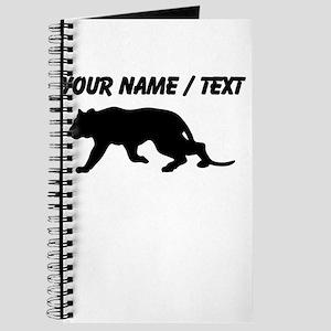 Custom Tiger Silhouette Journal