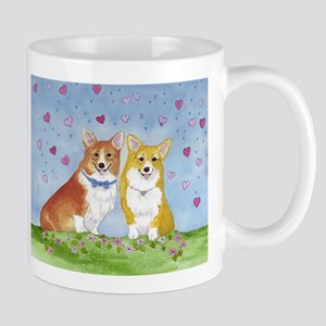 Hearts and Flowers Mugs