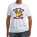 Rubber Ducky Racing Fitted T-Shirt