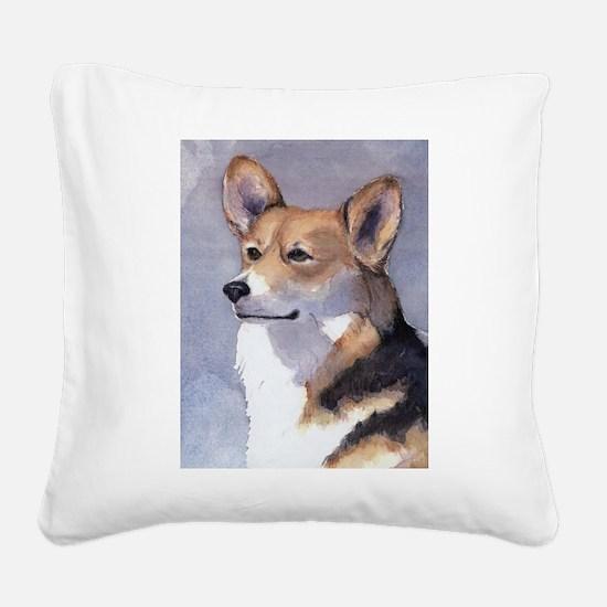 Sadie, the pretty lady Square Canvas Pillow