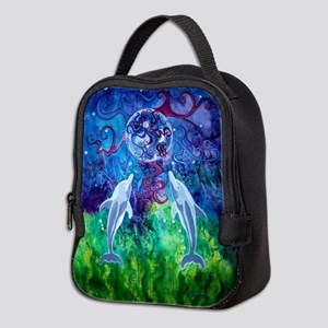 Dolphin Gaze Neoprene Neoprene Lunch Bag