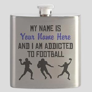 Addicted To Football (Custom) Flask