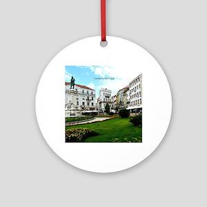 Coimbra, Portugal - World Heritage  Round Ornament