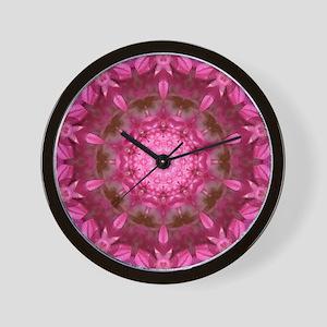 Dizzy azelea Wall Clock