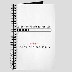 Delete Feelings Journal
