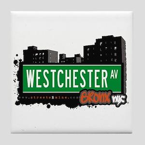 Westchester Av, Bronx, NYC Tile Coaster