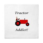 Red Tractor Addict Queen Duvet