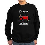 Red Tractor Addict Sweatshirt (dark)