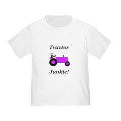 Purple Tractor Junkie T