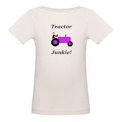 Purple Tractor Junkie Tee