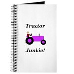 Purple Tractor Junkie Journal