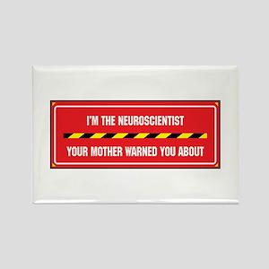 I'm the Neuroscientist Rectangle Magnet