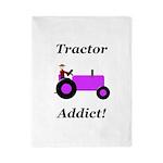 Purple Tractor Addict Twin Duvet