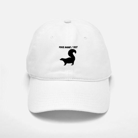 Custom Skunk Silhouette Baseball Baseball Baseball Cap