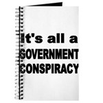 ITS ALL A GOVERNMENT CONSPIRACY Journal