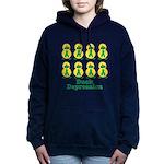 depression ducks.png Hooded Sweatshirt