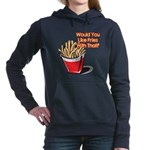 fries with that.png Hooded Sweatshirt