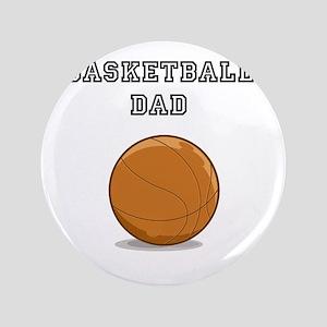 "basketball dad 3.5"" Button"