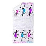 Dance Dance Dance Beach Towel