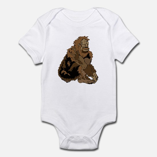 Bigfoot is Squatchin you Infant Bodysuit