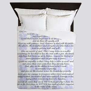 DISPATCHERS PRAYER Queen Duvet