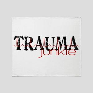 TRAUMAjunkie-2 Throw Blanket