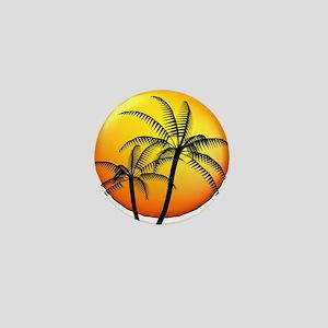PALM TREE DUO Mini Button