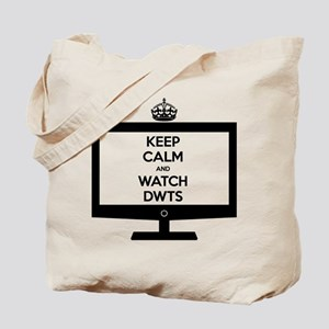 Keep Calm and Watch DWTS Tote Bag